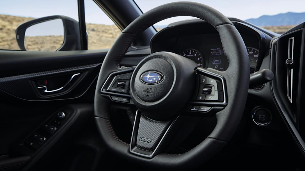 2022 Subaru WRX steering wheel