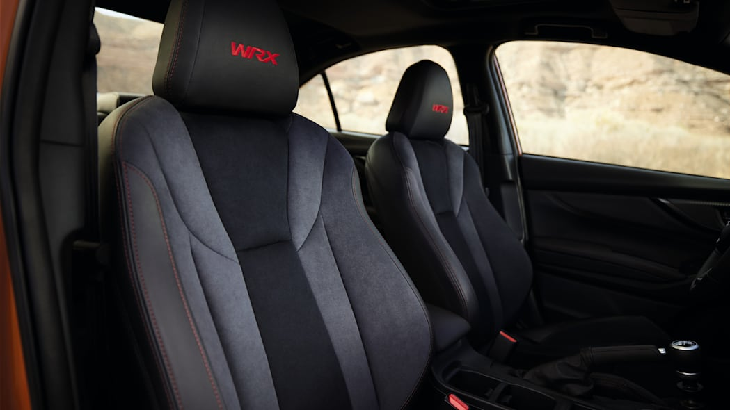 2022 Subaru WRX front seats