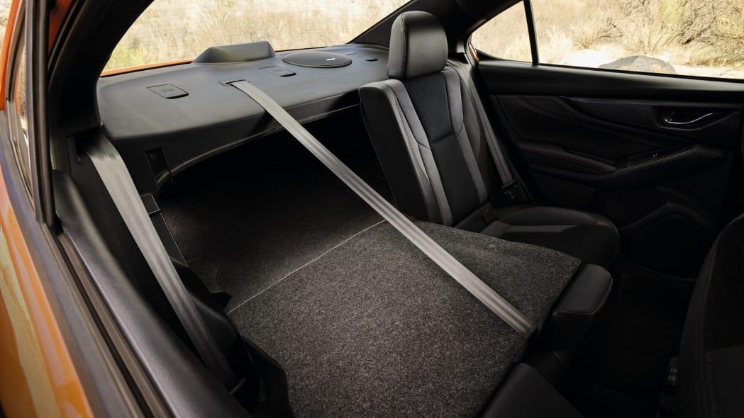 2022 Subaru WRX trunk pass through