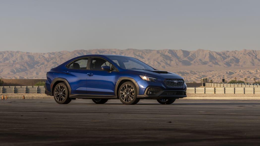 2022 Subaru WRX blue static