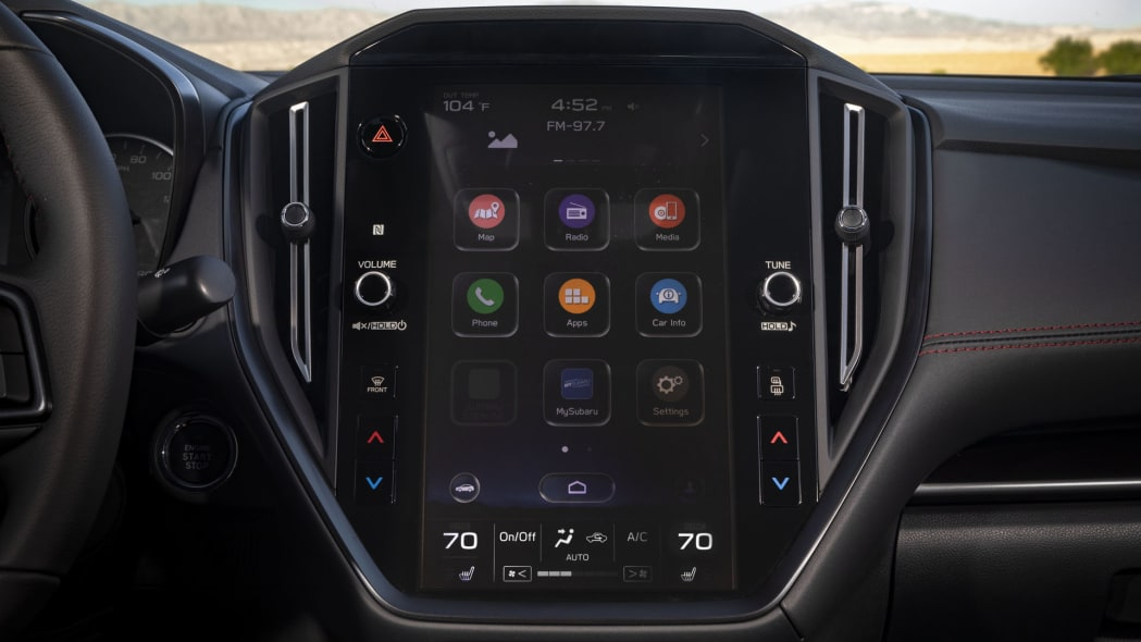 2022 Subaru WRX upgrade infotainment