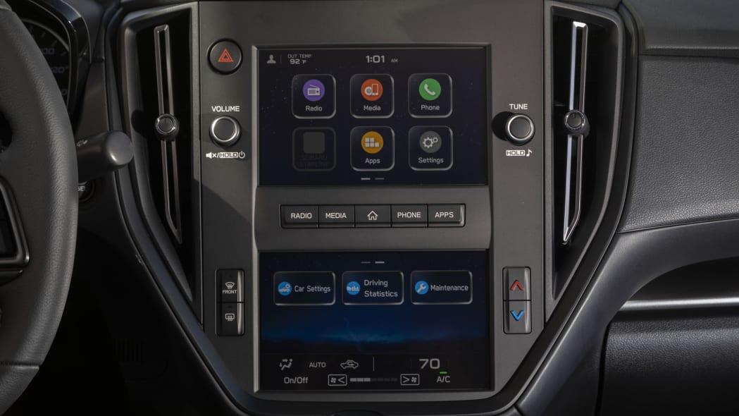 2022 Subaru WRX base infotainment