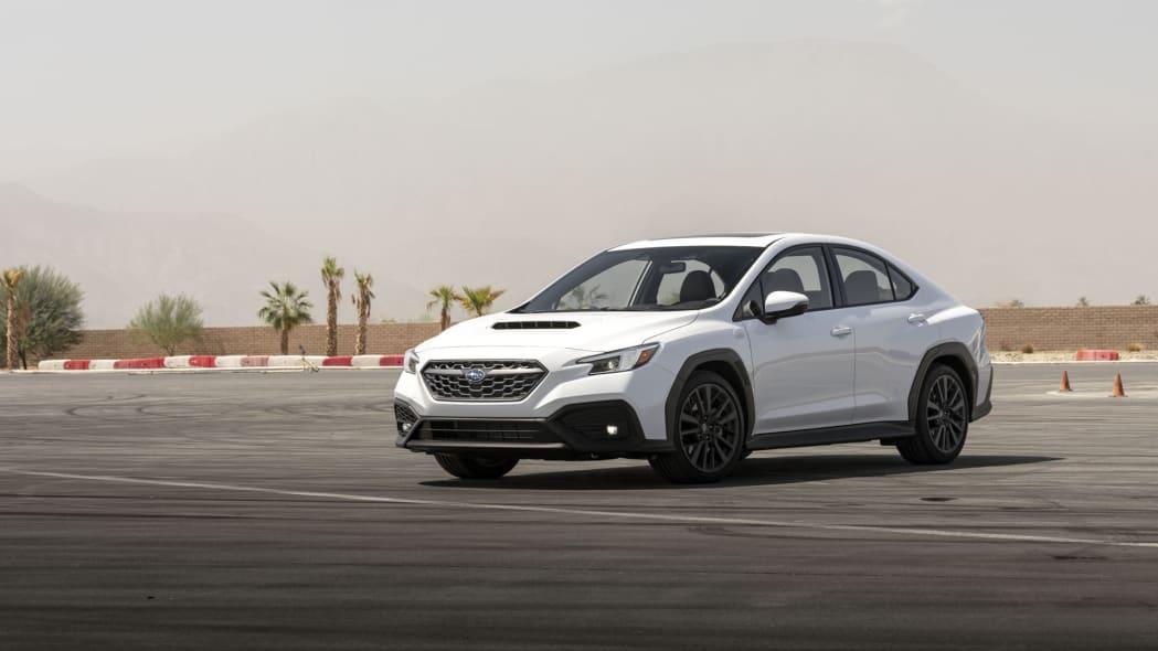 2022 Subaru WRX white front 34