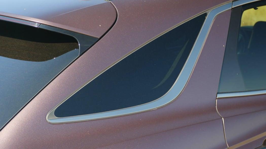 2022 Genesis GV70 rear quarter window