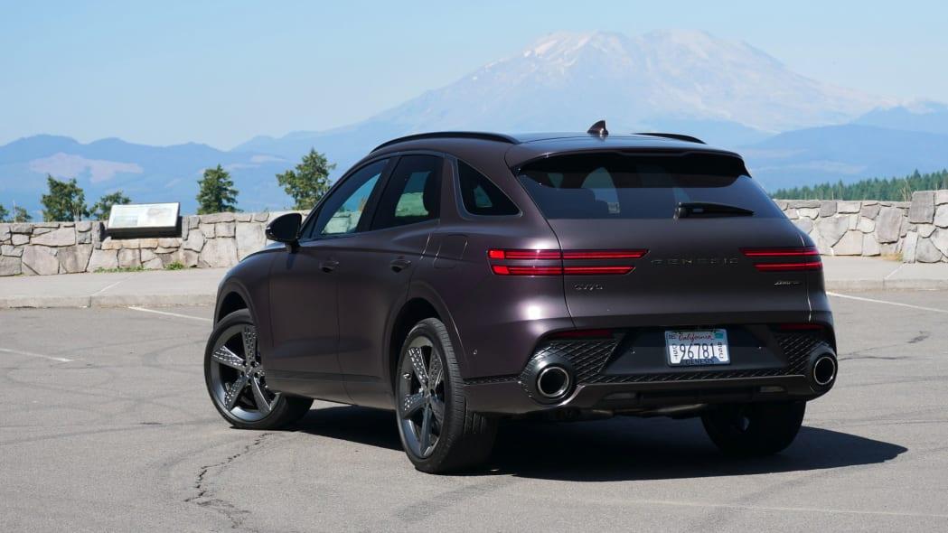 2022 Genesis GV70 rear Mt St Helens