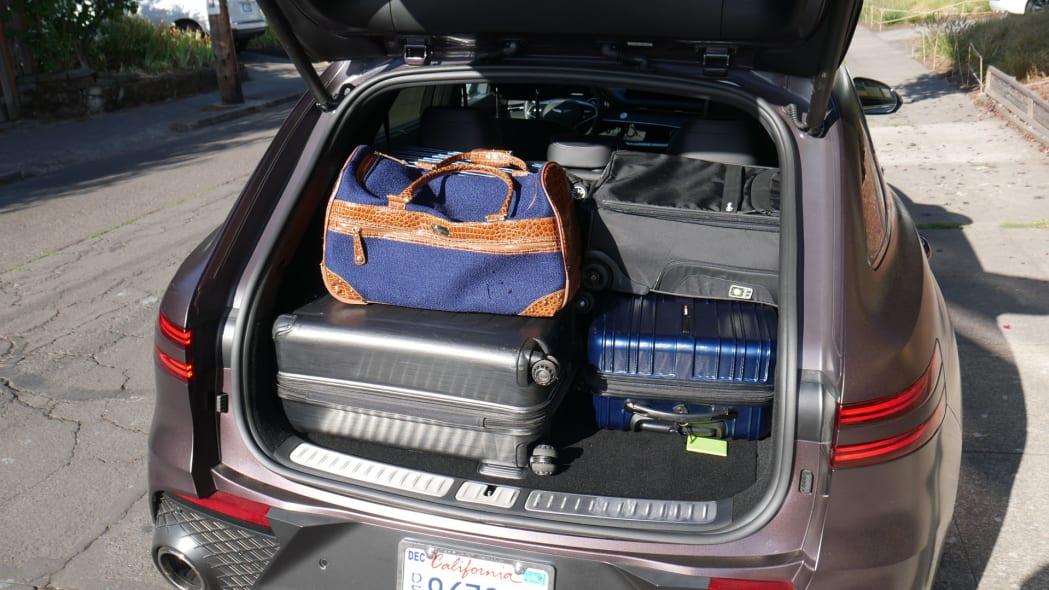 2022 Genesis GV70 luggage test full