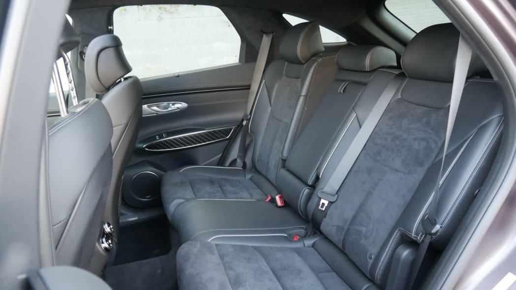 2022 Genesis GV70 back seat recline