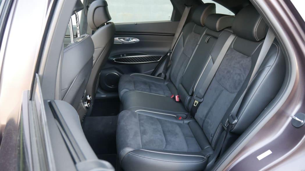 2022 Genesis GV70 back seat