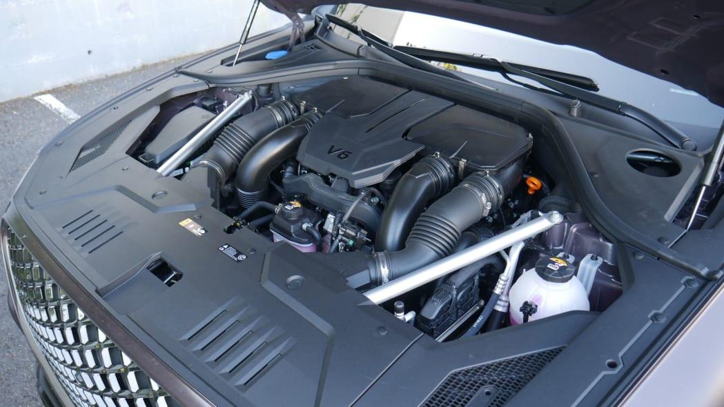 2022 Genesis GV70 engine