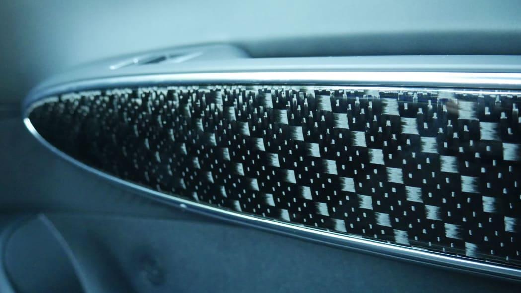 2022 Genesis GV70 carbon fiber trim