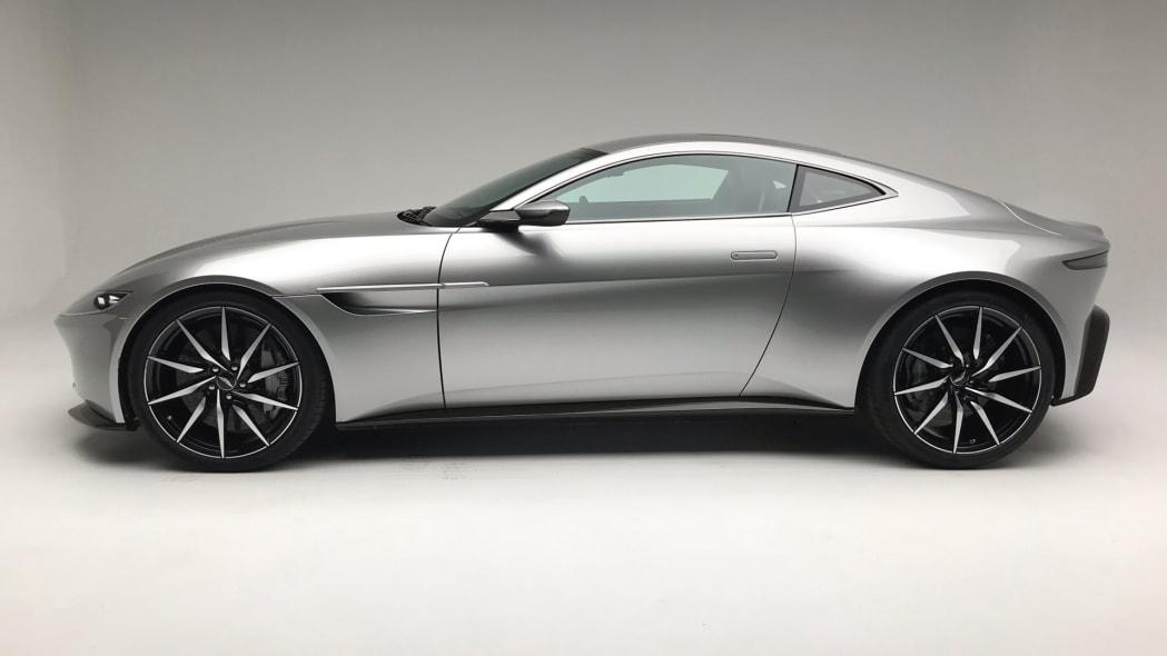 Aston Martin DB10 from Spectre in profile