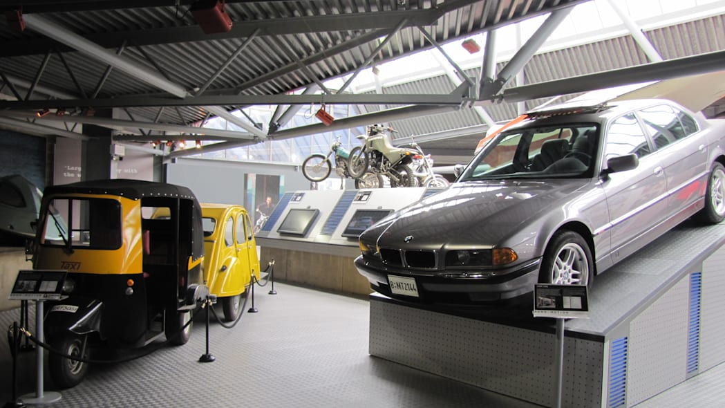 BMW 750iL from Tomorrow Never Dies