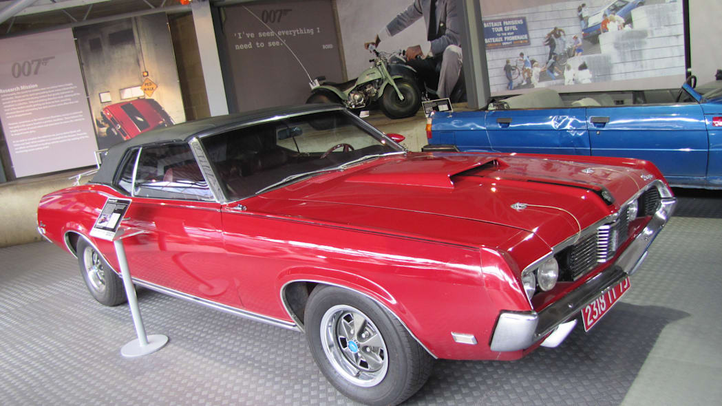 Mercury Cougar from On Her Majesty's Secret Service
