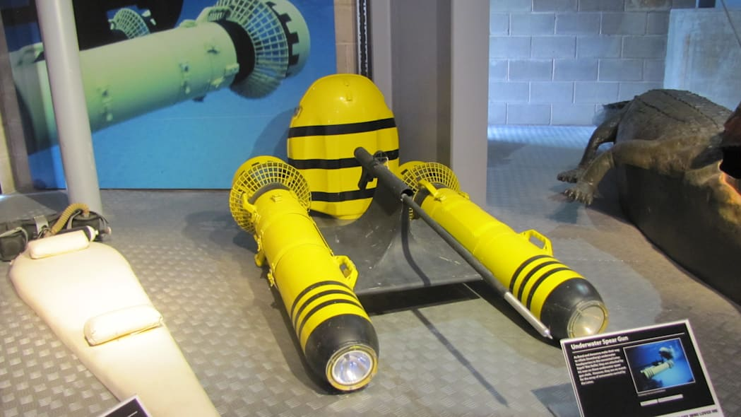 Underwater sled from The Spy Who Loved Me