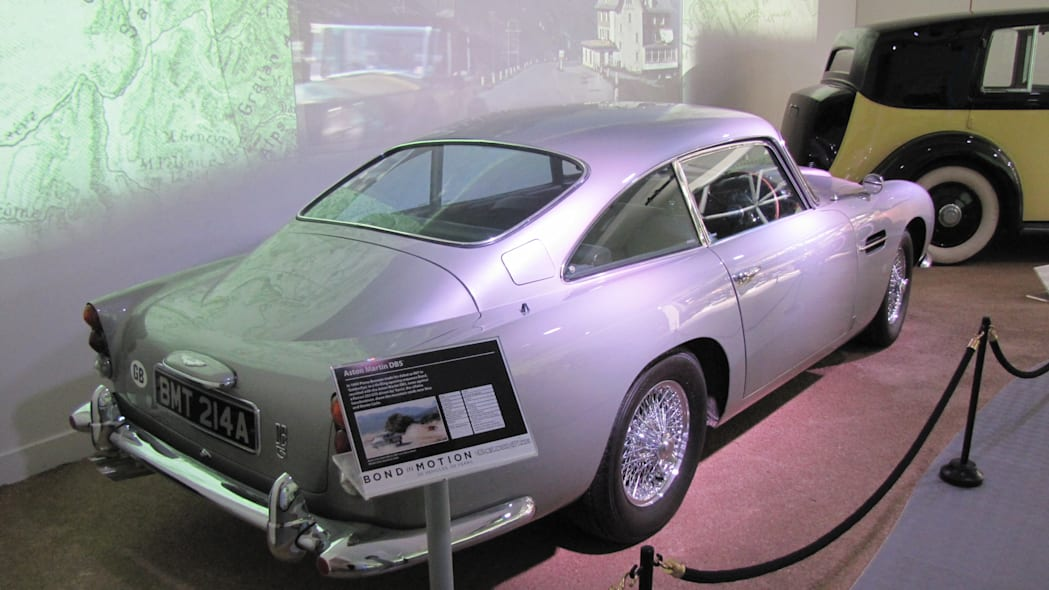 Aston Martin DB5 from Brosnan movies