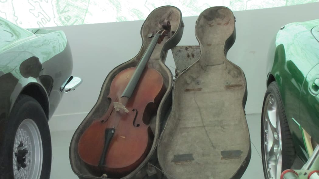 Cello/sled from The Living Daylights