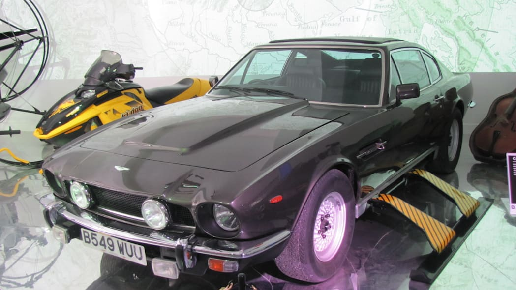 Aston Martin V8 from The Living Daylights