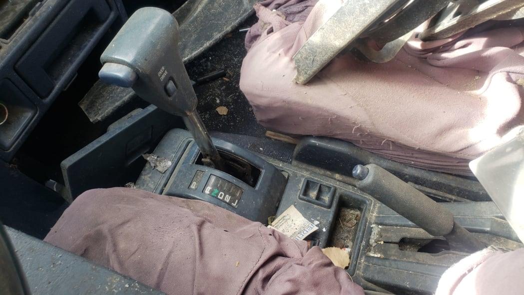 13 - 1986 Toyota Camry Liftback in Colorado junkyard - photograph by Murilee Martin
