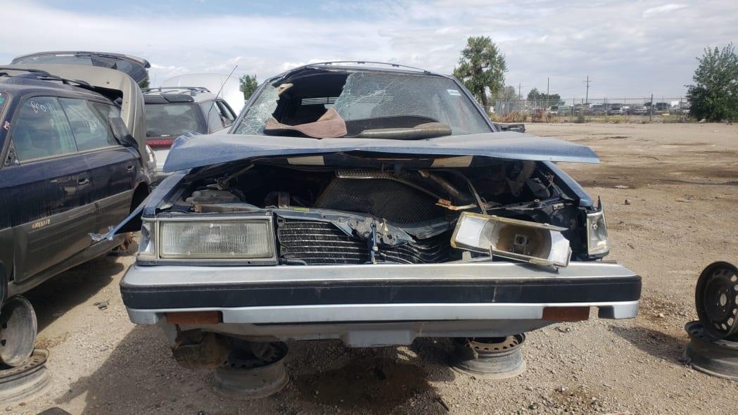 44 - 1986 Toyota Camry Liftback in Colorado junkyard - photograph by Murilee Martin
