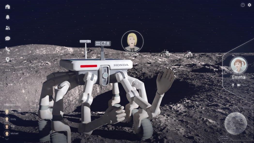 Honda's lunar plans