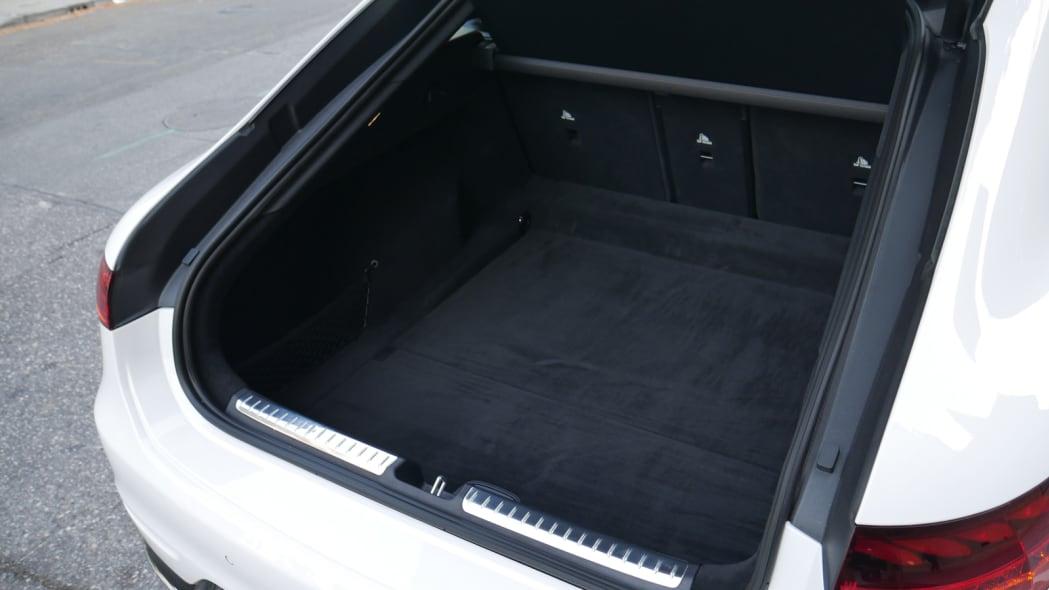 2022 Mercedes EQS trunk