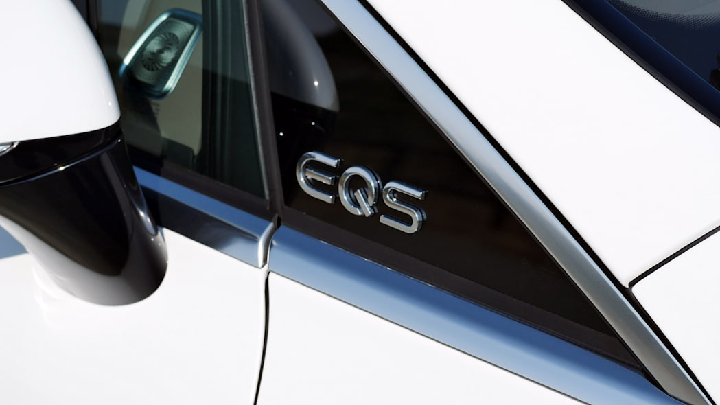 2022 Mercedes EQS badge