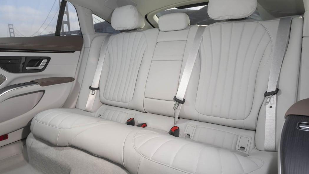 2022 Mercedes EQS 450+ back seat