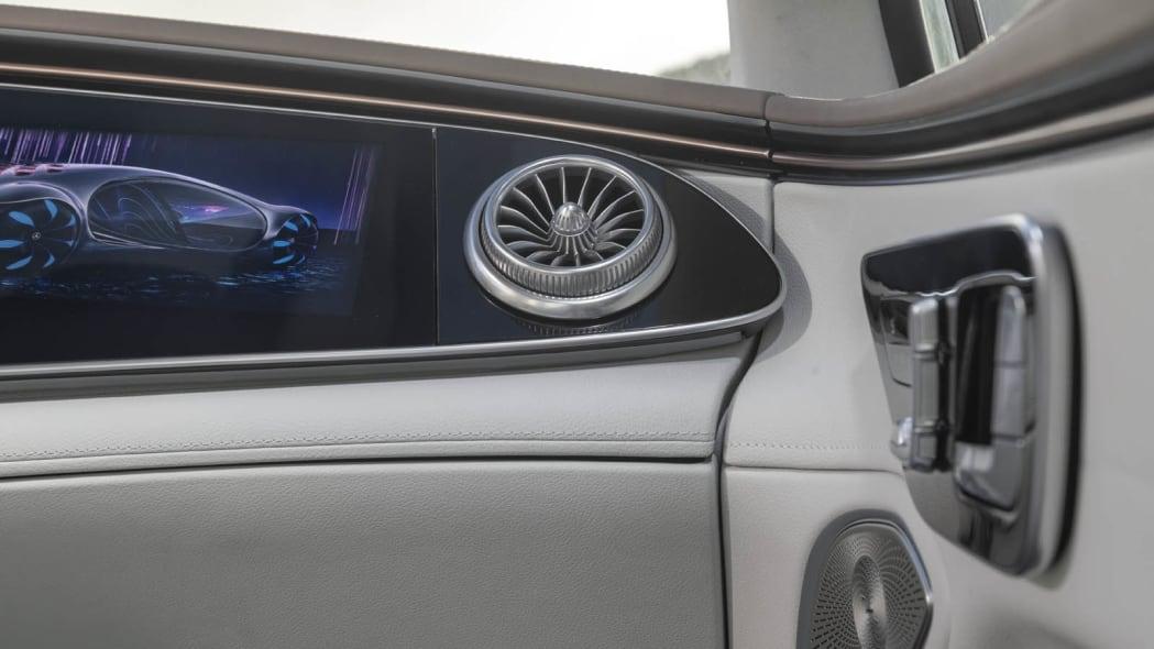 2022 Mercedes EQS 450+ air vent