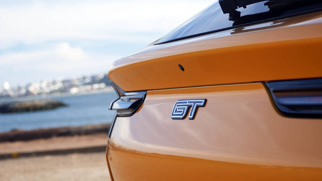 2022 Ford Mustang Mach-E GT Performance GT badge