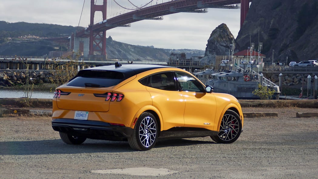 2022 Ford Mustang Mach-E GT Performance rear high