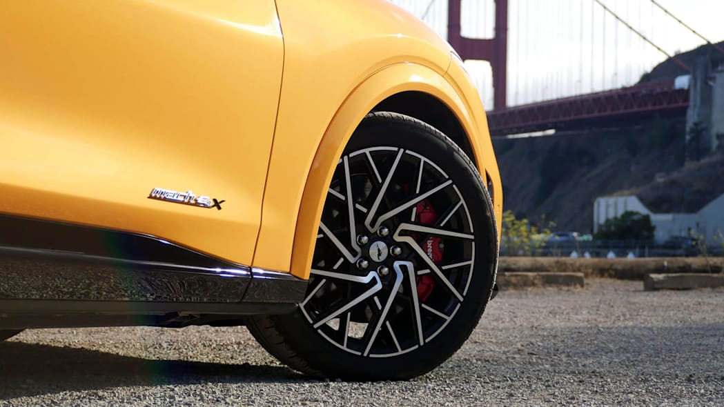 2022 Ford Mustang Mach-E GT Performance wheel