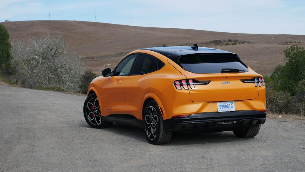 2022 Ford Mustang Mach-E GT rear