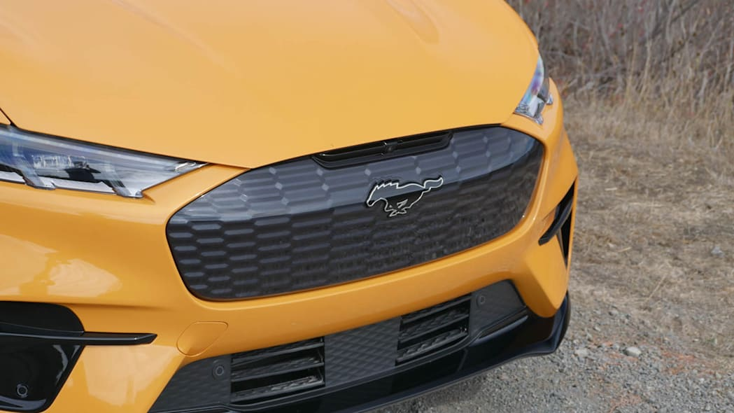 2022 Ford Mustang Mach-E GT grille