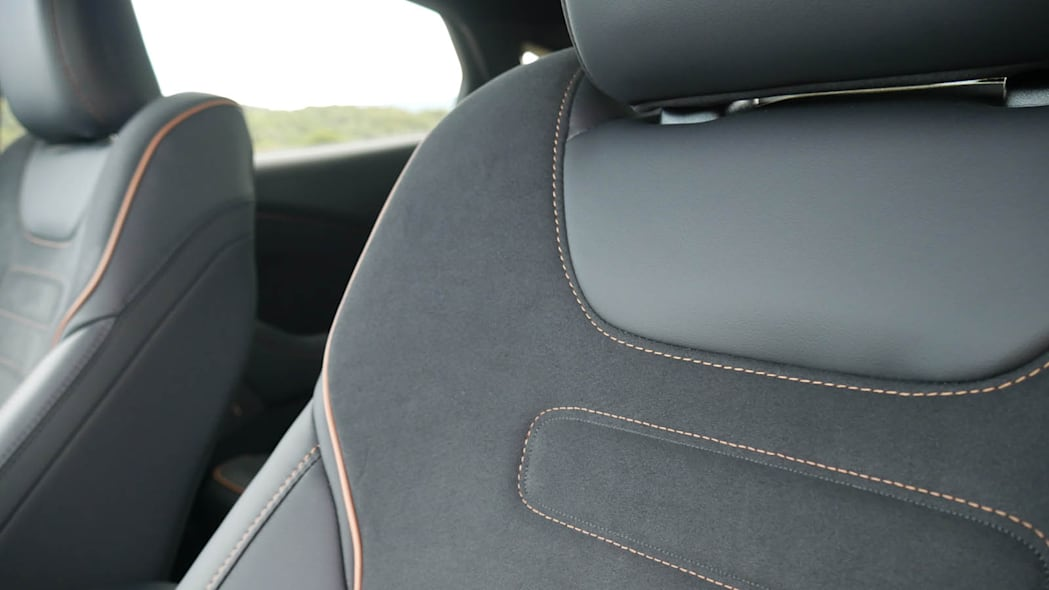 2022 Ford Mustang Mach-E GT base seat detail