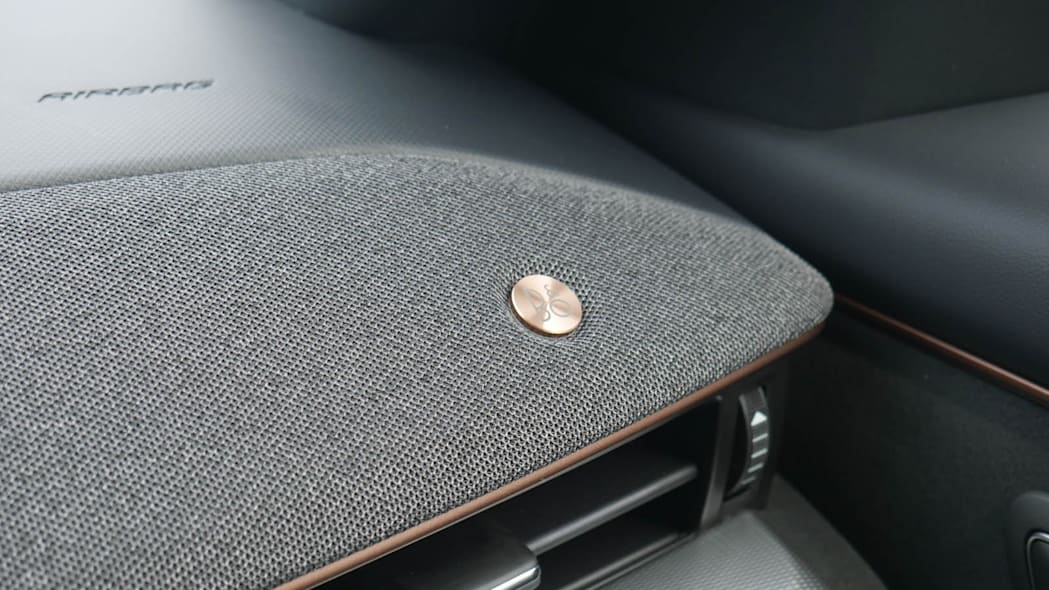 2022 Ford Mustang Mach-E GT bronze dash details