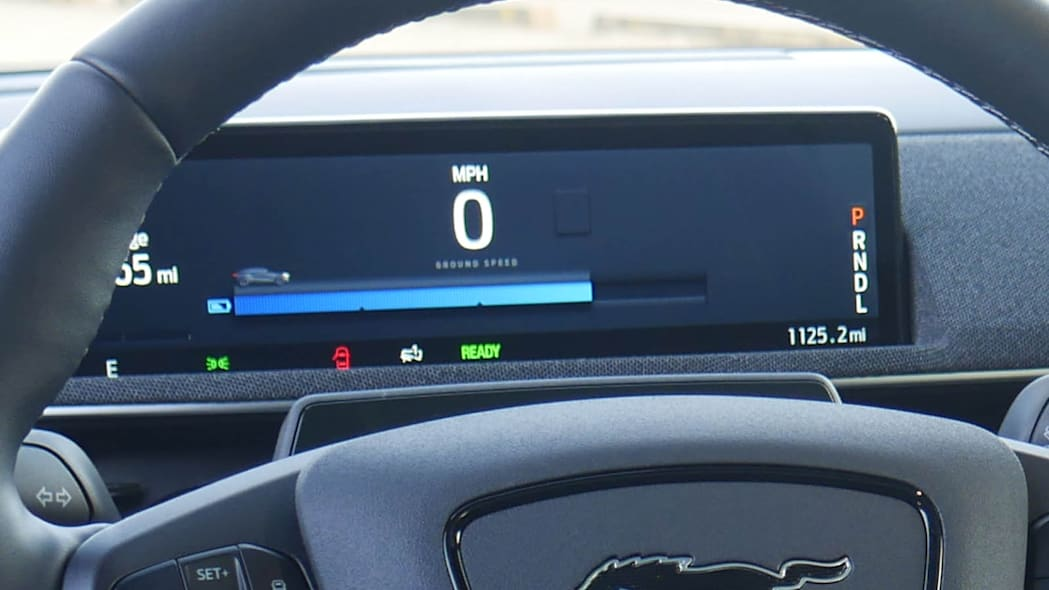 2022 Ford Mustang Mach-E GT instrument panel