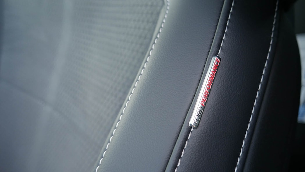 2022 Ford Mustang Mach-E GT Performance seat detail