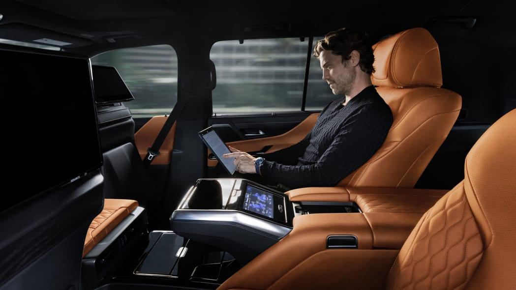 2022 Lexus LX 600 Ultra Luxury back seat