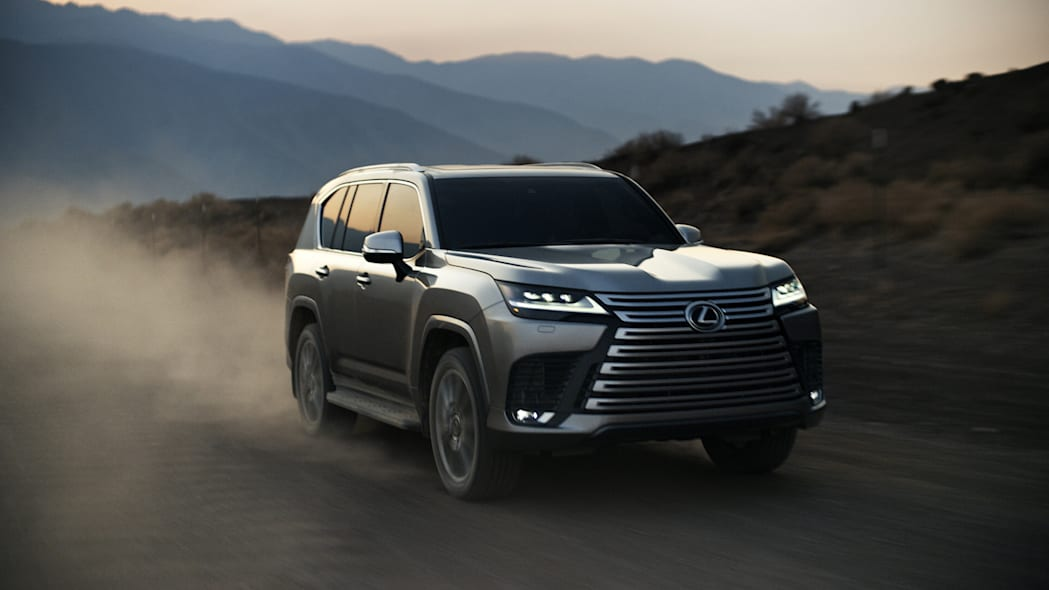 2022 Lexus LX 600 Ultra Luxury front action