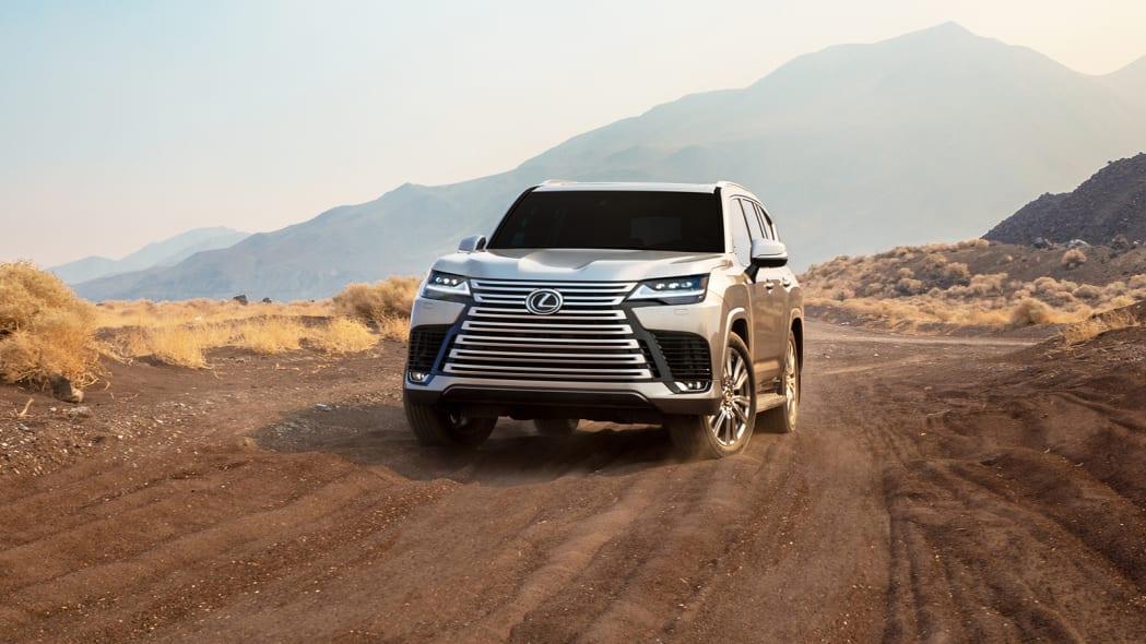 2022 Lexus LX 600 Ultra Luxury front off road