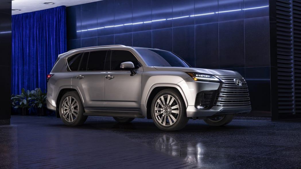 2022 Lexus LX 600 Ultra Luxury front three quarter inside