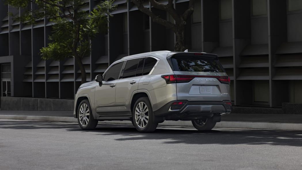 2022 Lexus LX 600 Ultra Luxury rear