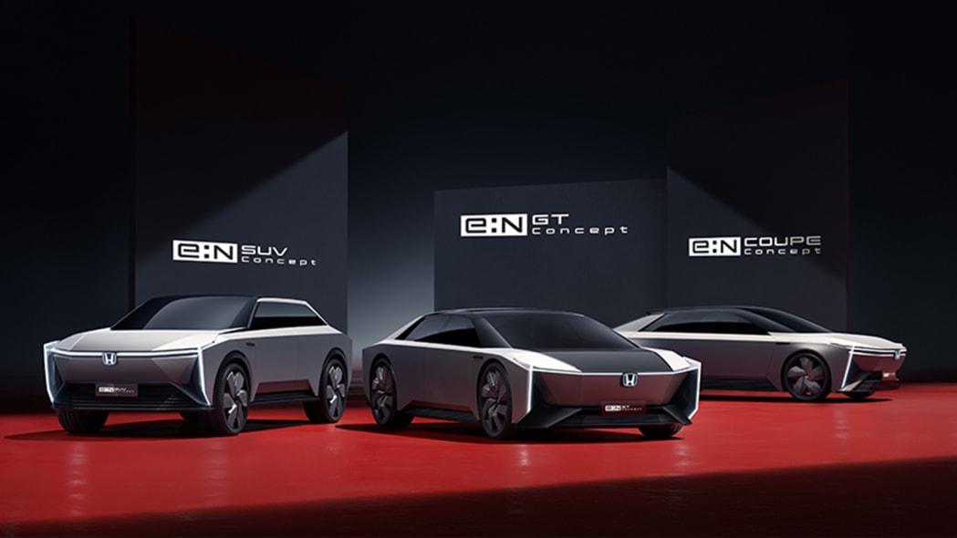 Honda e:N SUV, e:N GT and e:N Coupe concepts