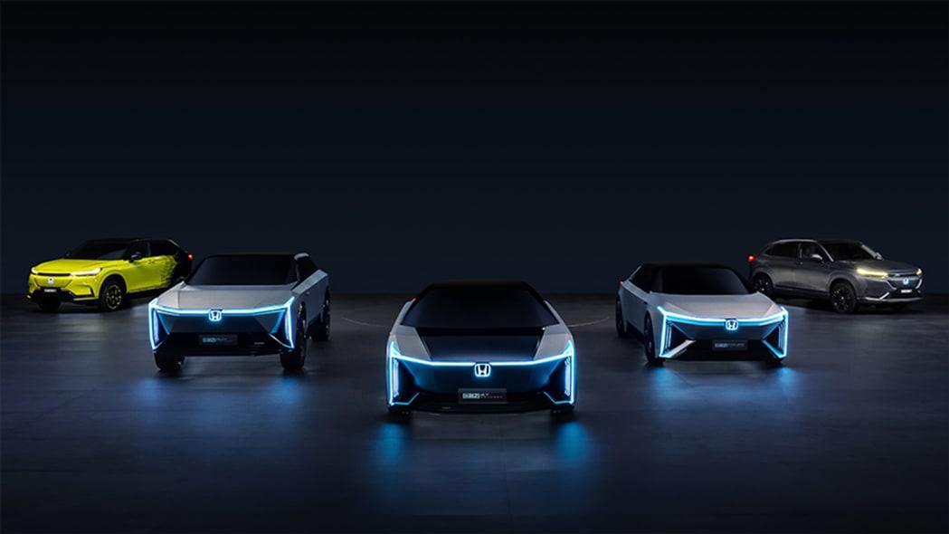 Honda e:N electric cars