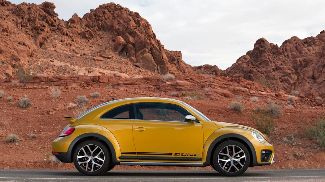 vw beetle dune coupe profile