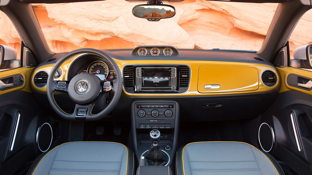 vw beetle dune convertible interior