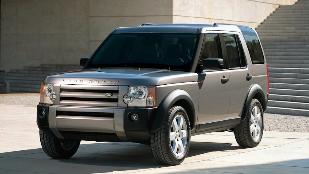 Land Rover LR3 in silver