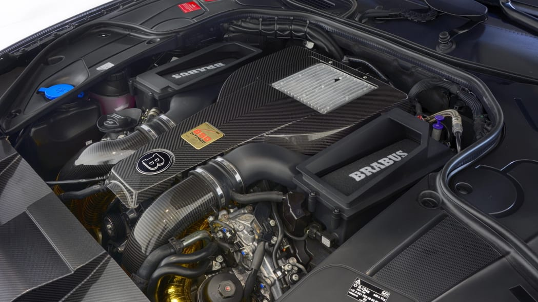Brabus 850 6.0 Biturbo Cabrio engine bay