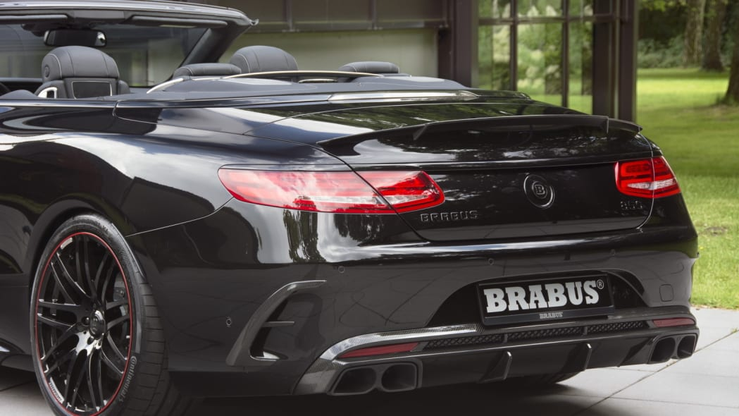 Brabus 850 6.0 Biturbo Cabrio detail rear