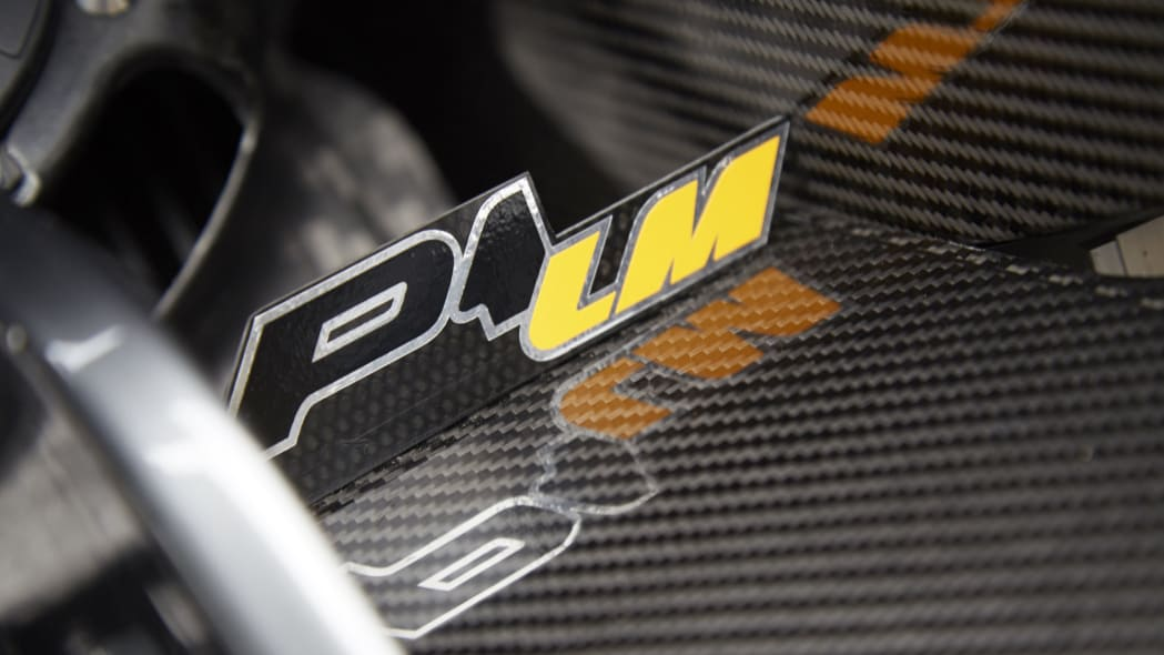 P1 LM nameplate